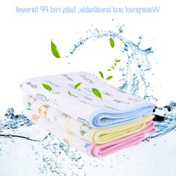 waterproof changing diaper pad cotton washable infant