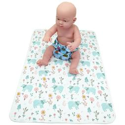 Waterproof Portable Changing Pad Baby Diaper Changing Mat fo