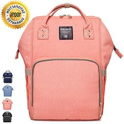 Wide Open Designed Baby Diaper Bag Backpack with Insulated B