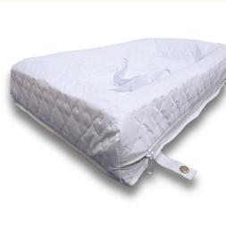 Rumble Tuff Zipped Contour Changing Pad, White, Standard